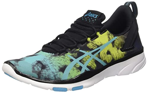Asics Gel Fit Sana 2 Graphic Scarpe Sportive Indoor Donna Multicolore Black/A