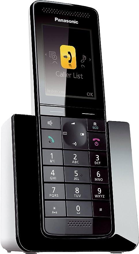 Panasonic KX-PRS120GW - Teléfono Fijo Digital (contestador, inalámbrico, Pantalla LCD), Negro [versión importada]: Amazon.es: Electrónica