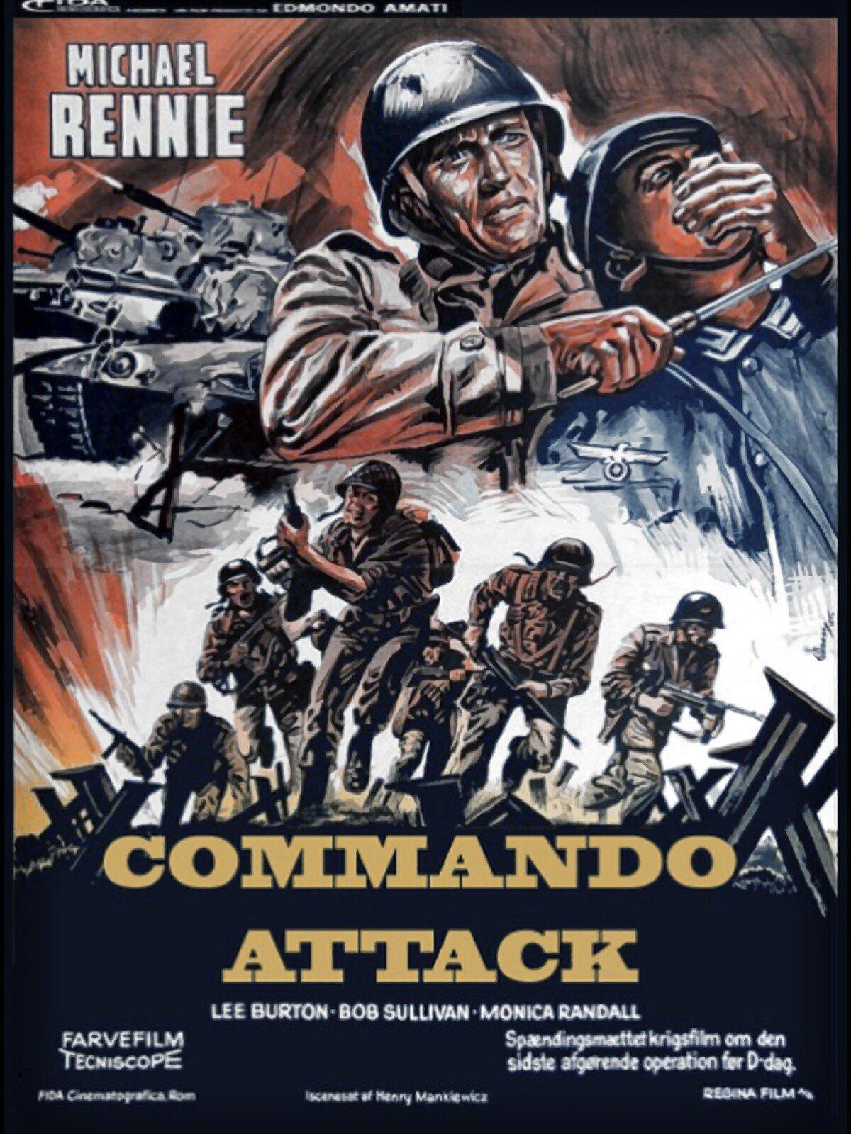 War Movie : Commando Attack ( Full Movie )
