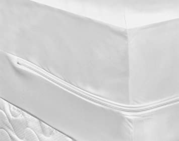 Bed Bug Mattress Cover.Highliving Bed Bug Mattress Protector Zippered Waterproof Mattress Encasement Protection From Fluids Insects And Dust Mites King
