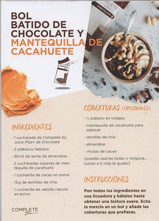 Complete Chocolate by Juice Plus+: Amazon.es: Alimentación y bebidas