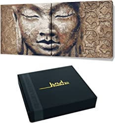 Juul Fine Art Giclee PEACE by, 24x12inch double panel, 12x12inch per panel, in