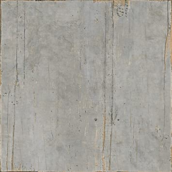 Feinsteinzeug Fliesen Holzoptik Wand Bodenfliese Bad Blendart Grey 90x90cm