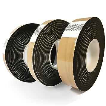 grau Fugendichtband Kompriband Fugenabdichtung Dichtungsband Fensterdichtband Quellband Fugendichtband expandiert von 4 auf 20mm Bandbreite 10mm Panorama24 8m Komprimierband Acryl 300 10//4