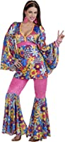 Amazon.com: Forum Novelties Women's Flower Power Hippie 60
