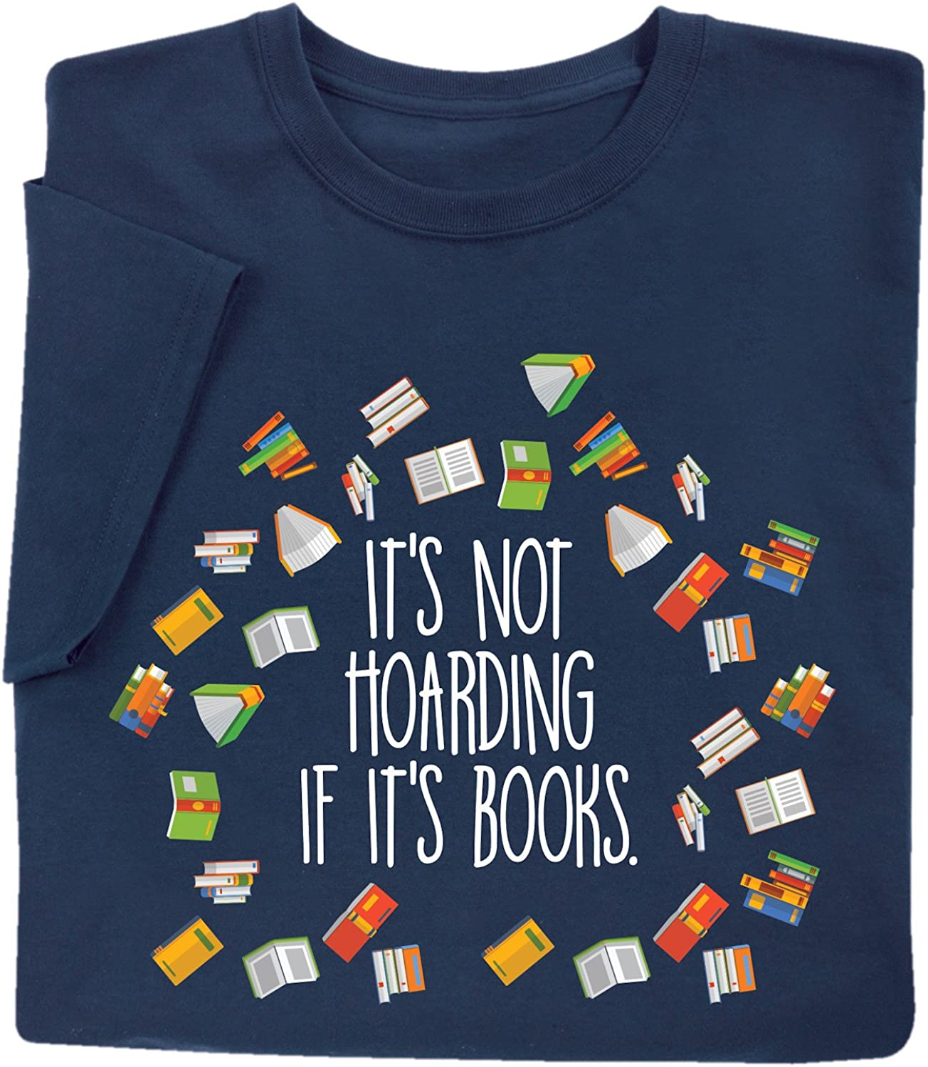 inktastic Its Not Hoarding If Its Books Baby T-Shirt