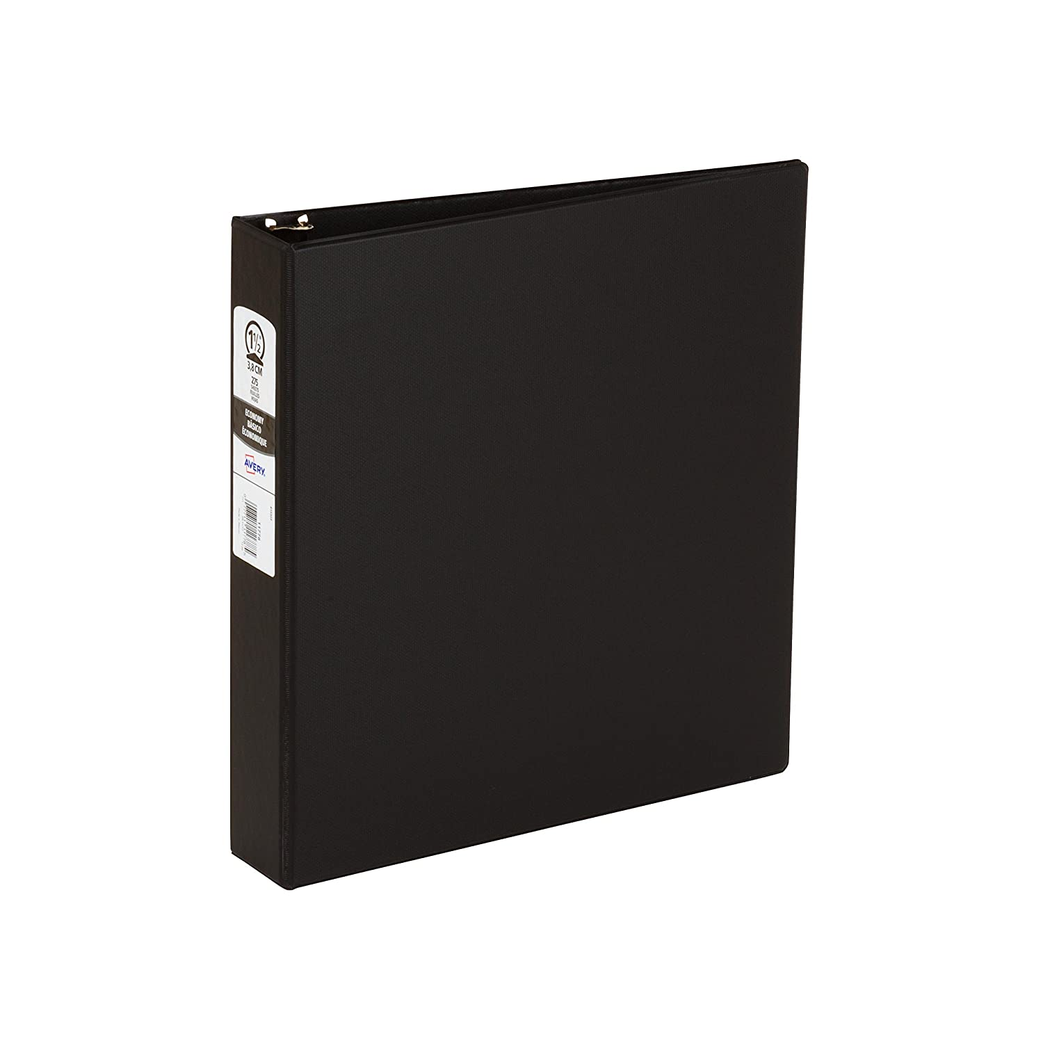 11778 Avery 1-1//2 Assorted Color Economy Round Ring Binders
