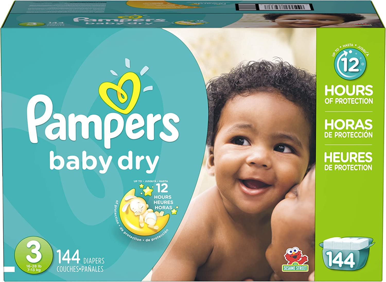 2 modified pampers cruiser size double tabs 5 27+Lbs with