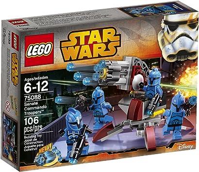 LEGO Star Wars Senate Commando Troopers by Building Toys: Amazon ...