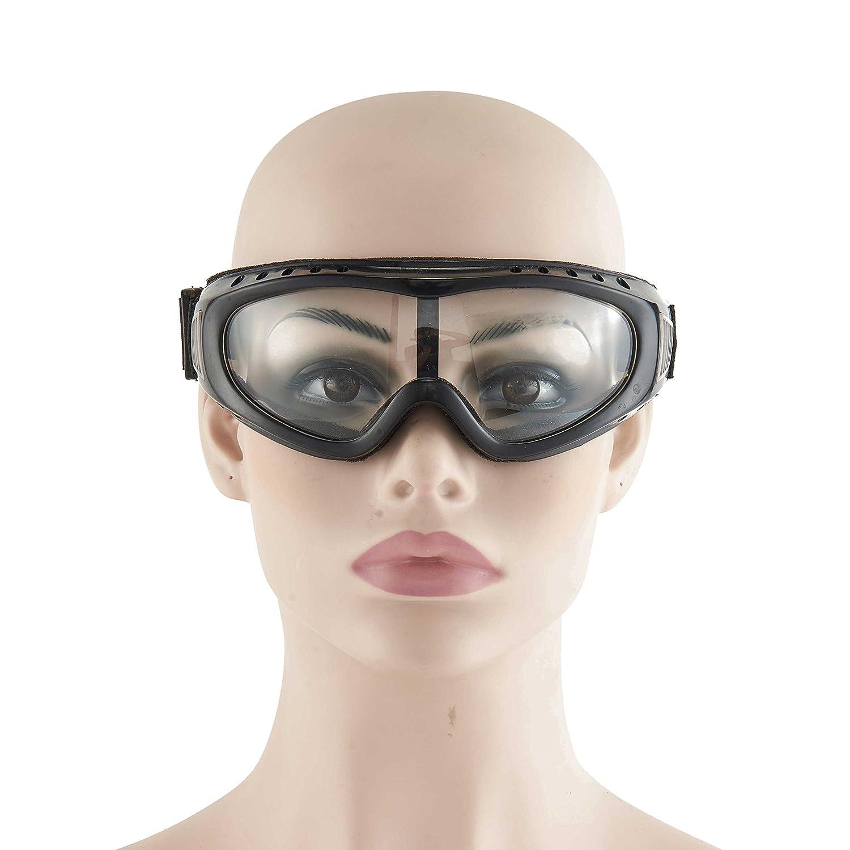 Babimax Gafas Protectoras Protecció n de UV Anti-viento Unisex ABS Gafas de Anti-quí mico y Anti-polvo Resistencia al Impacto para Proteger los Ojos RH-002