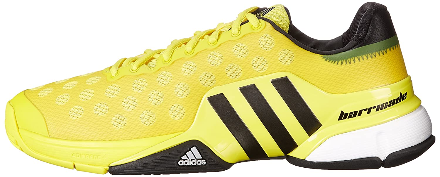 huge selection of 6ef48 6fa9e Zapatillas de tenis adidas Performance Barricade 2015 para hombre Amarillo  brillante   negro   blanco