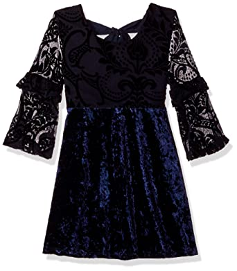 11b44623ef Amazon.com  My Michelle Girls  Big Velvet Dress  Clothing