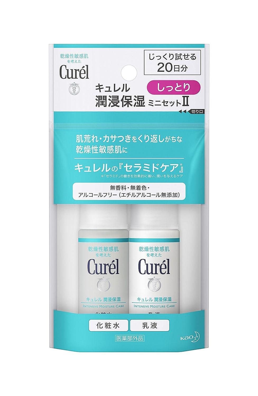 キュレル フェイスケア しっとり(化粧水30ml+乳液30ml)