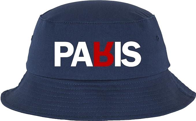e180ab5de5dc2f Mister Tee Paris Bucket Hat Hut, Navy, one Size: Amazon.de: Sport ...