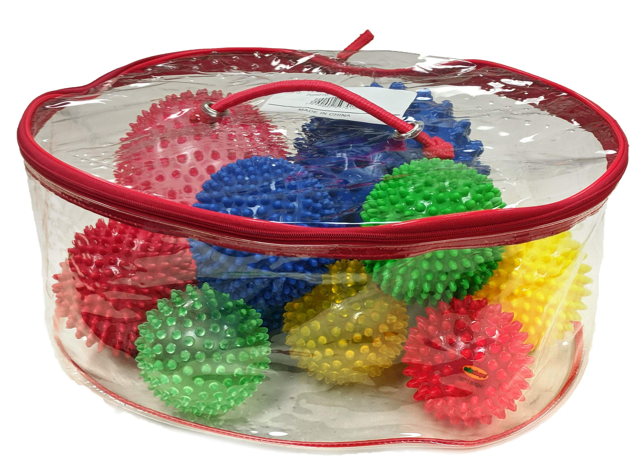 Edushape 10 Piece Sensory Ball Assortment & Carrying Case