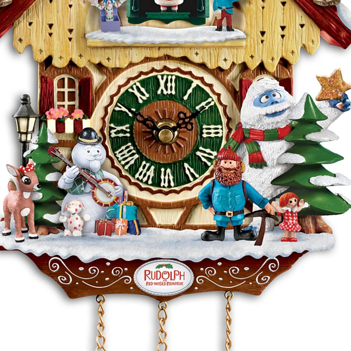 Cuckoo Clock Rudolph The Red-Nosed Reindeer 50th Anniversary ...