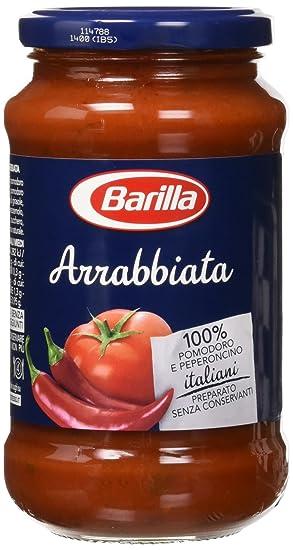 Barilla Arrabbiata - Salsa de Tomate con guindilla, 6 x 400 g