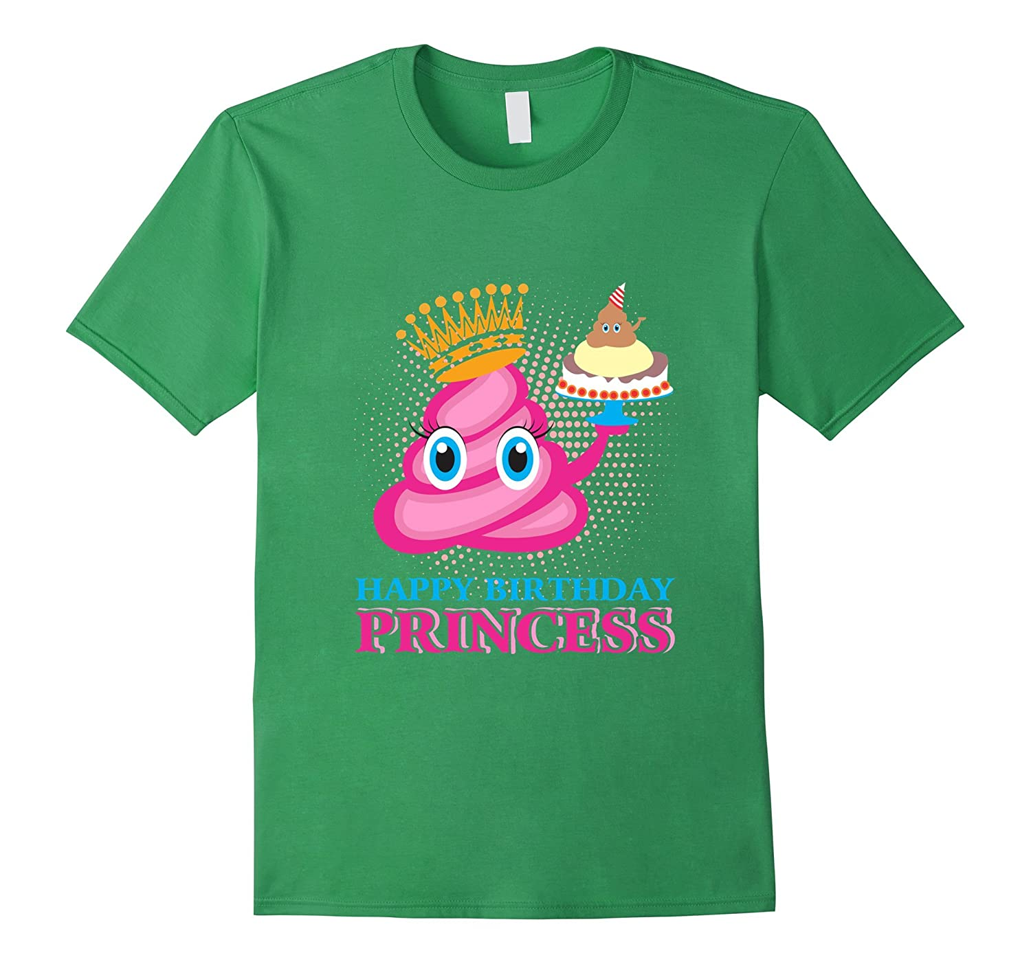 Funny Pink Poop Emoji Happy Birthday Shirt - Limited Edition-CD