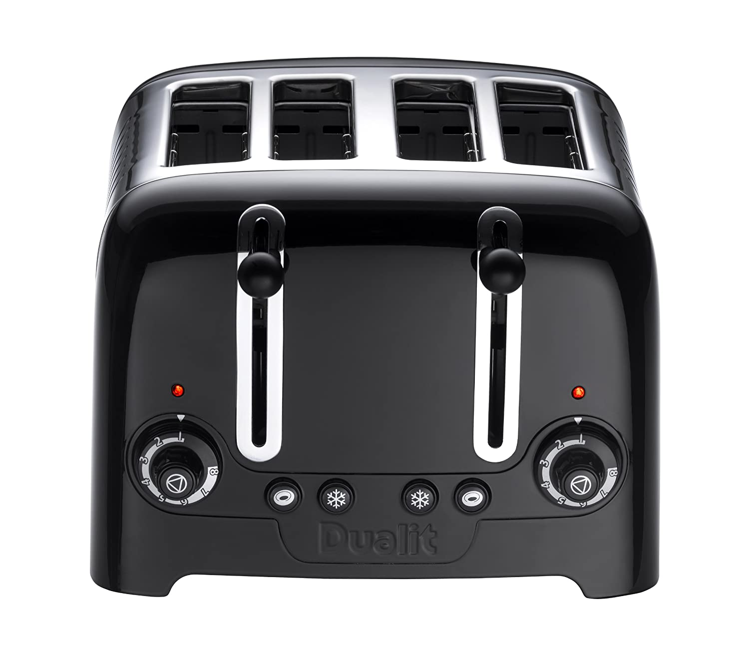 Dualit 4 Slot Lite Toaster in Black Finish Amazon