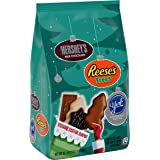 HERSHEY'S Holiday Shapes Christmas Chocolate Candy Assortment, HERSHEY'S, REESE'S & YORK, Individually Wrapped, 35.1 oz…