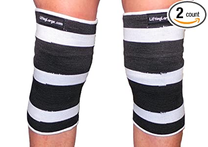679f754707 White Crusher 3 Ply Knee or Elbow Sleeves - Powerlifting (2X-Large 12.5-