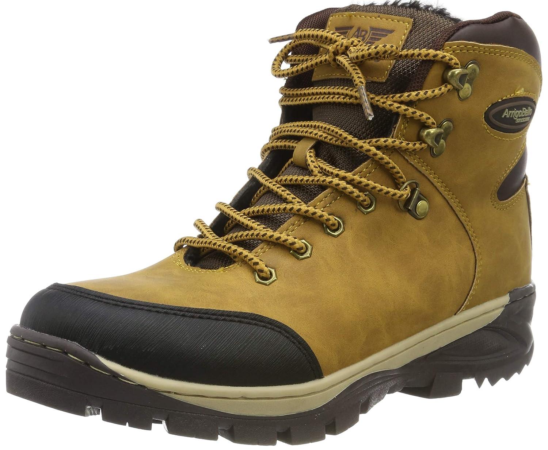 ABTOP Hombre Botines Zapatos Botas Nieve Invierno Botas Impermeables Fur Forro Aire Libre Boots Género Mixto
