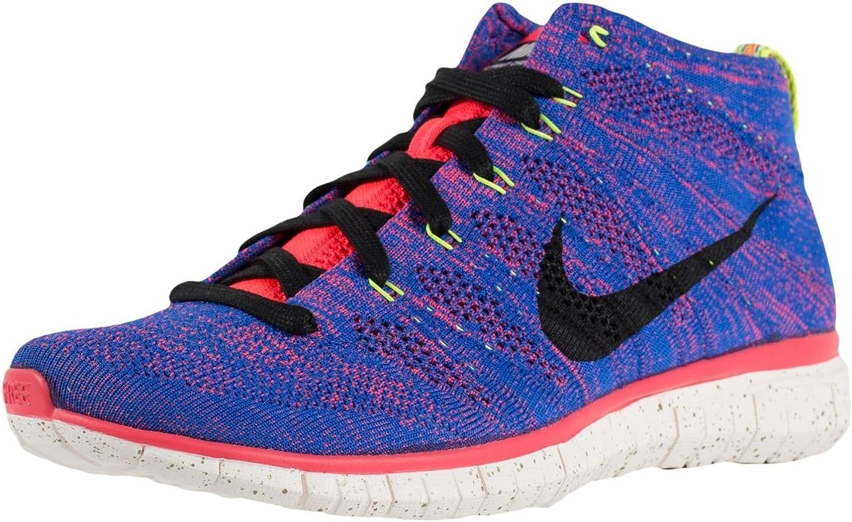 Blanco entregar arco  Amazon.com | Nike Men's Free Flyknit Chukka Pr Qs Gm Royal/Obsdn/Hypr  Pnch/Ivry Running Shoe 10 Men US | Road Running