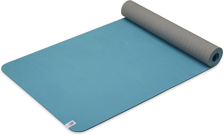 Amazon.com: New Balance Yoga Mat - TPE 6mm Thick Non Slip ...