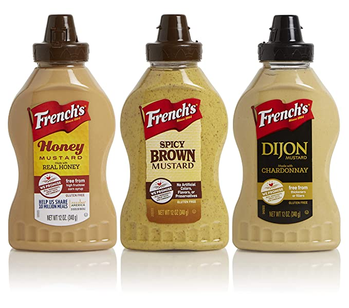 3 PACK LICENSED MOSSY OAK SQUEEZE BOTTLE 3 STYLES KETCHUP MUSTARD BBQ SAUCE