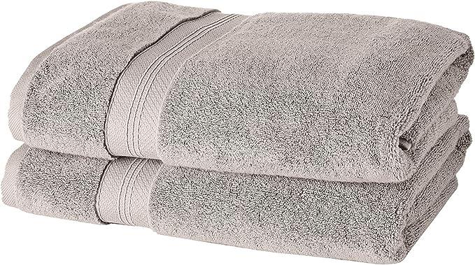 Pinzon - Juego de toallas de algodón Pima (2 toallas de baño ...