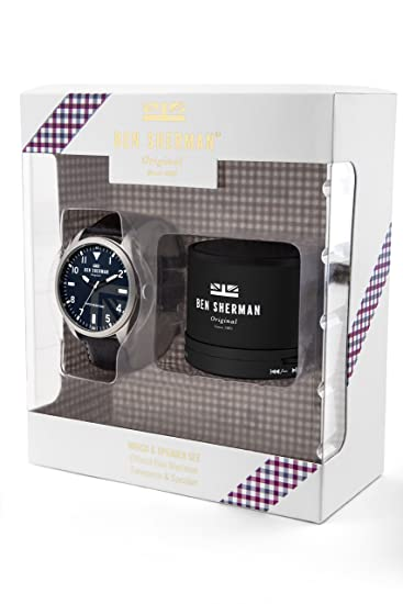 efe20d94285c Ben Sherman Mens Analogue Classic Quartz Watch with Leather Strap WB074UB  G  Amazon.co.uk  Watches