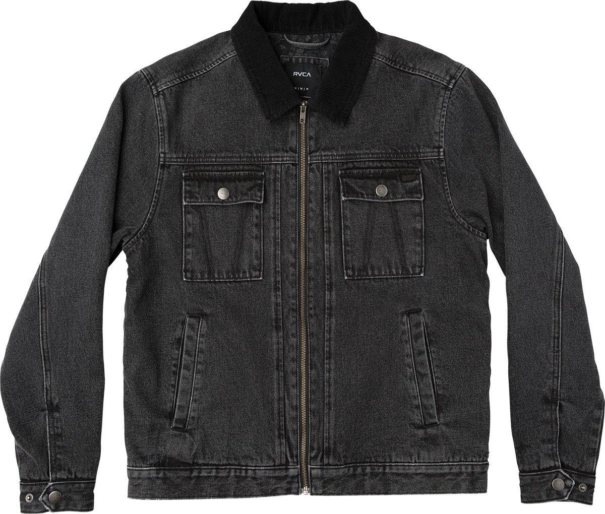 RVCA Men's Bando Jacket, Black, M