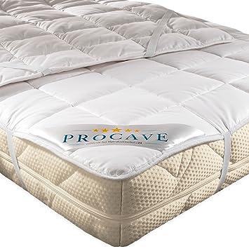 Procave Weiches Unterbett Aus 100 Baumwolle Atmungsaktiver Matratzen Schoner Hochwertige Matratzentopper Matratzen Auflage 90x200 Cm