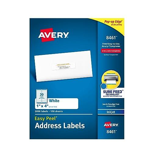 Amazon Avery Mailing Address Labels Inkjet Printers 2 000