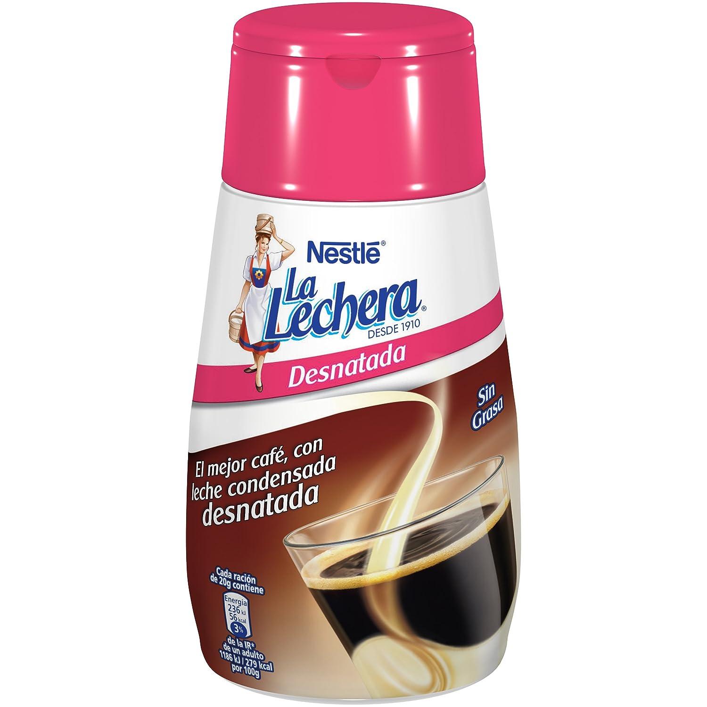 Nestlé - La Lechera Leche Condensada Desnatada Botella - 450 g: Amazon.es: Alimentación y bebidas