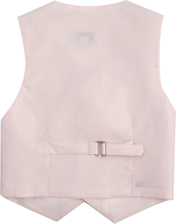 Y /& Z Page Boy Wedding Formal Christening 4pc Linen Blend Short Suit Set