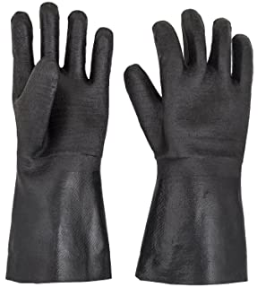G & F Products Insulated waterproof/oil & heat resistant BBQ, Smoker, Grill Cooking Gloves. Great barbecue & grilling -excellent gift -1 pair (13 Inch)
