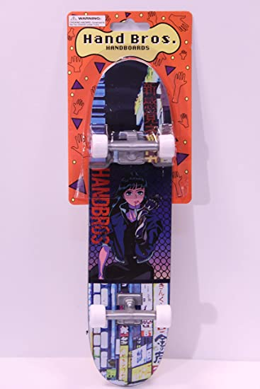 HANDBROS Handboard Skateboard 27cm 10.5 inch Tech Large Finger Board W//Grip VXBOT