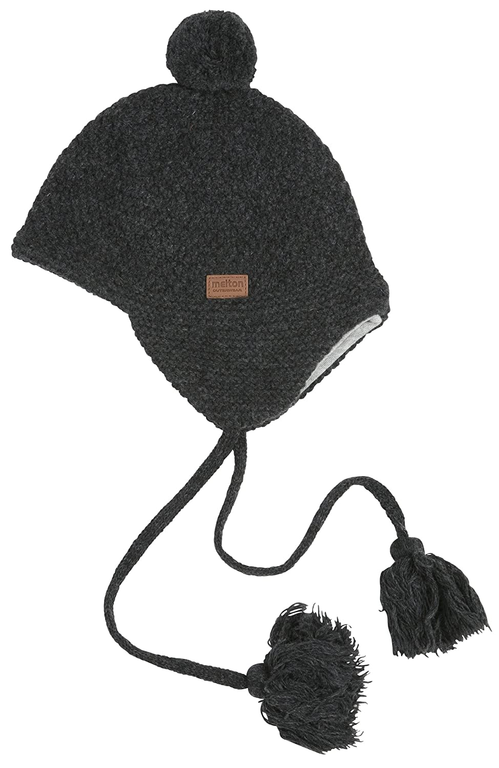 Amazon.com  Melton Baby Toddler Wool Hat with Tassels  Clothing 08675d0dfe9