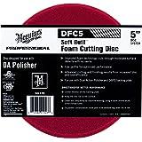 """MEGUIAR'S DFC5 Soft Buff DA (Dual Action) 5"""" Foam Cutting Disc, 1 Pack"""