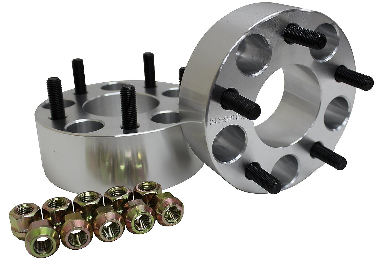 SEIKOH ワイドトレッドスペーサー 2枚組 PCD 114.3-5H-P1.5-40mm シルバー 40mm B02ESET2 B01B17UGTK