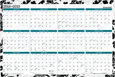 at-A-Glance - Calendario anual de julio de 2019 - junio de 2020 ...
