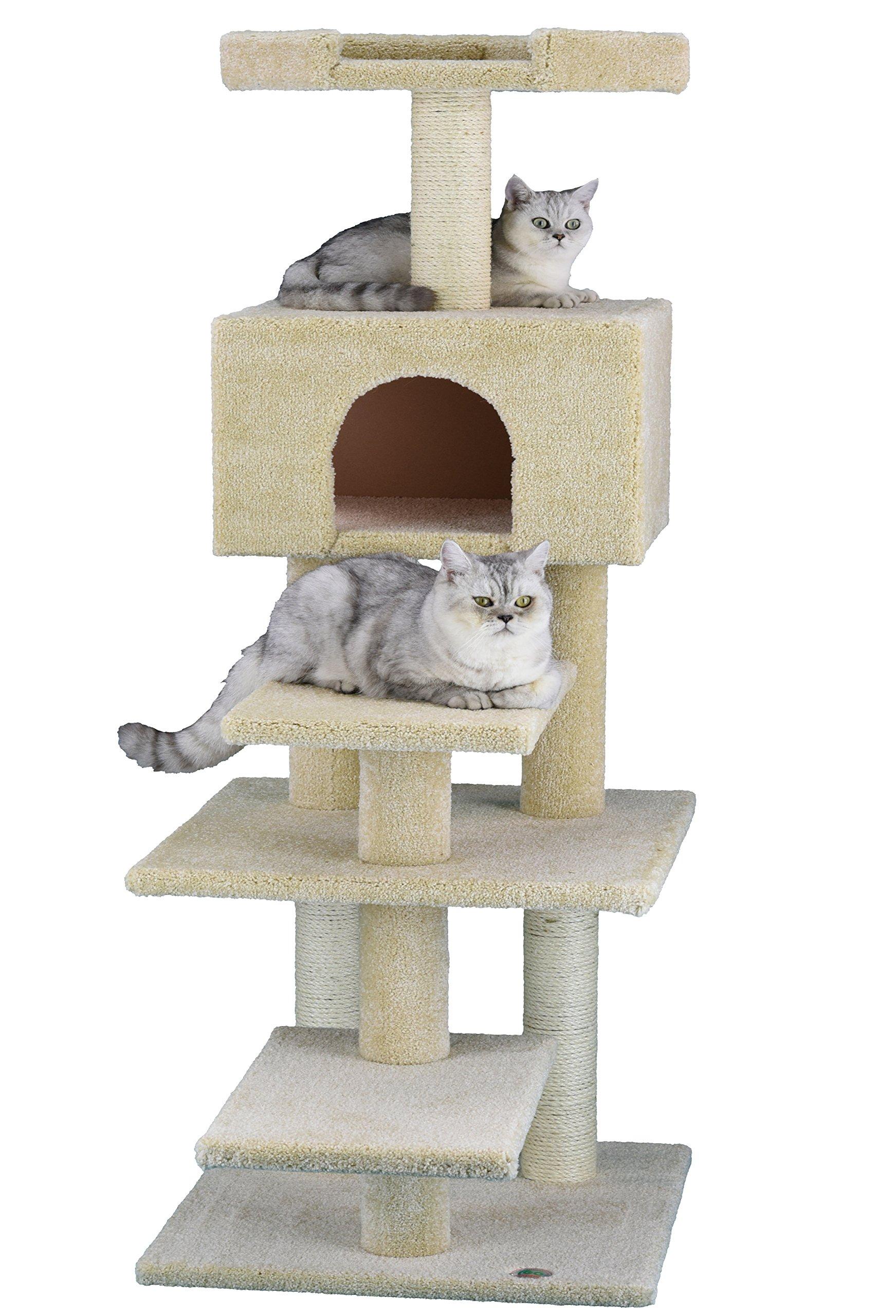 Go Pet Club LP-817 Premium Carpeted Cat Tree Furniture