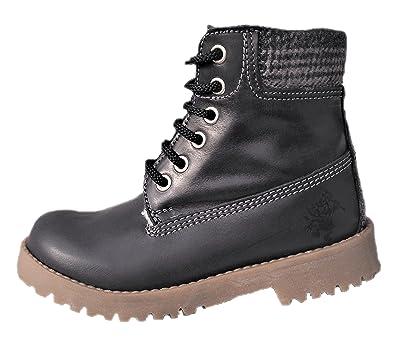 the best attitude 28994 a2717 ennellemoo® Jungen-Kinder-Stiefel-Boots-echt Leder- Schuhe ...