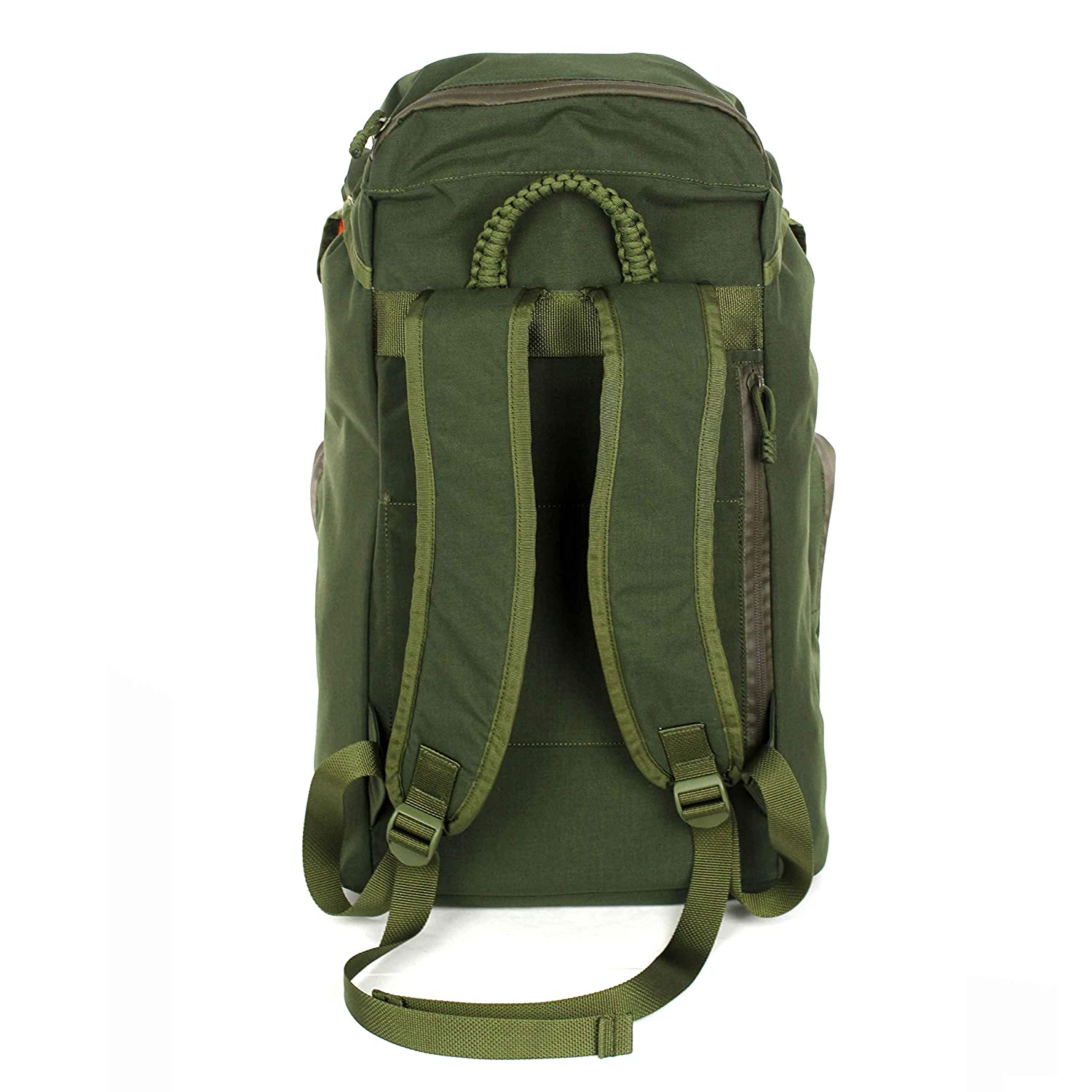 """AMG Parmia 3 Compartment Military Inspired Backpack with 1/"""" ADF Raptor Aluminum Quick Release Buckles OD Green"""