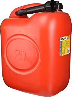 Maurer 2325590 Bidón gasolina (20 litros, homologado) rojo