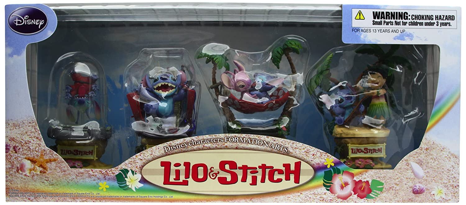 FIGURE LILO E /& STITCH AND FORMATION ARTS DISNEY SQUARE ENIX STATUA #
