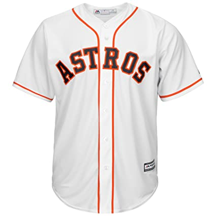 1305fe68c Amazon.com : Majestic Athletic Houston Astros Cool Base Home White ...