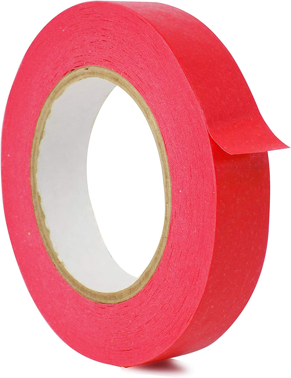 1//2 inch x 60 yds Flatback Paper Marking//Labeling Tape Residue Free for Watercolor Paper to Prevent Tearing WOD CFTC6 Console Artist Tape Light Blue