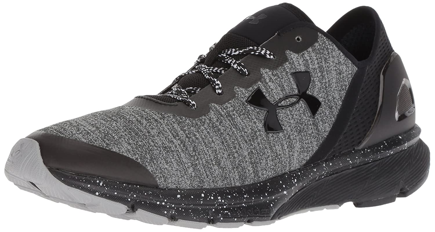 Under Armour Men's Charged Escape Running Shoe B0758HHMBY 10.5 M US|Black (001)/Black